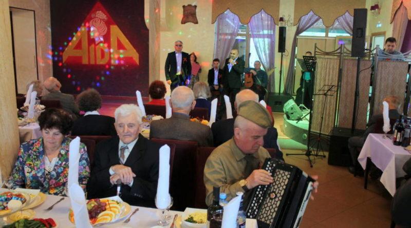 Праздничное мероприятие, посвященное Дню Победы состоялось в РК «Аида»